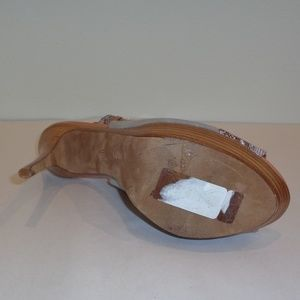Donald J. Pliner Shoes - Donald J Pliner WAYTE Gray Suede Peep Toe Heels